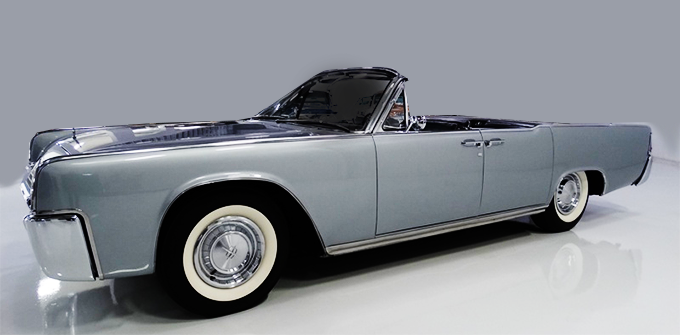 Classic Lincoln Continetnal Convertible Suicide Doors For