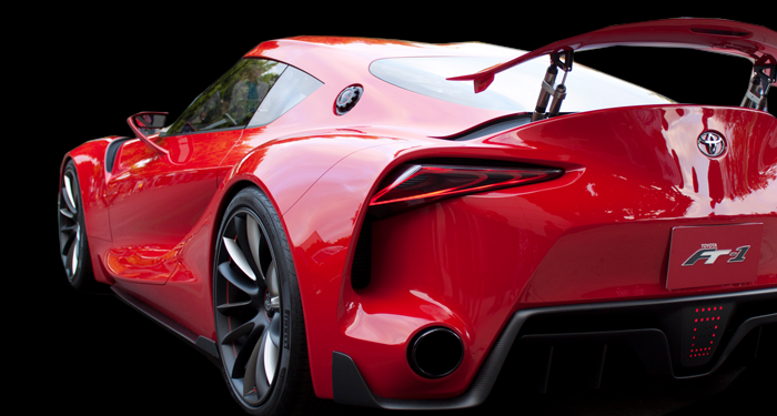 New Toyota Supra FT1 for rent Los Angeles Beverly Hills