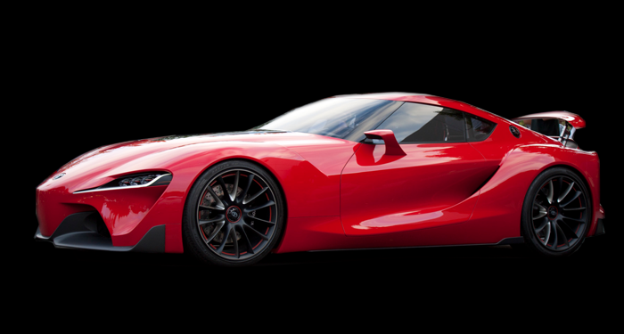 Toyota Supra FT1 for Rent Los Angeles Beverly Hills